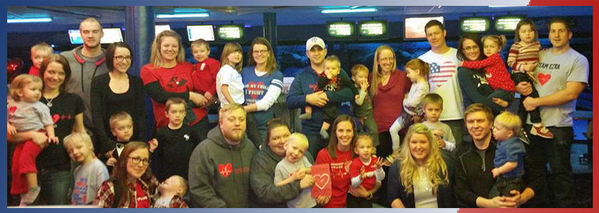 group photo of Lasting Imprint families